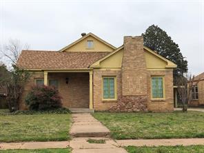 1633 Belmont, Abilene, TX, 79602