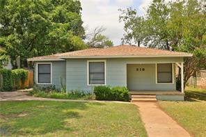 218 College, Abilene TX 79601