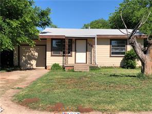 1225 La Salle, Abilene, TX, 79605
