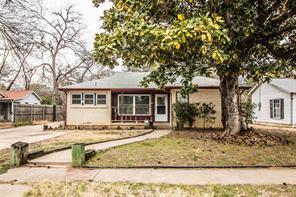 3713 Honeysuckle, Fort Worth, TX 76111