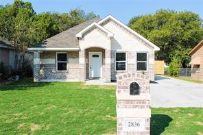 2836 Stuart, Fort Worth, TX, 76104