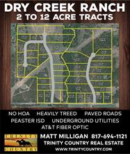 Lot 17 Dry Creek, Weatherford, TX 76088