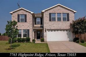 7765 Highpoint, Frisco, TX, 75035