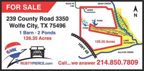 239 County Road 3350, Wolfe City, TX 75496