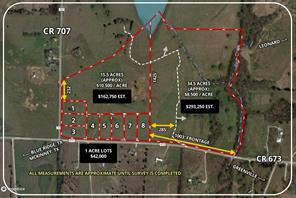 Lot 4 CR 673, Blue Ridge, TX, 75424