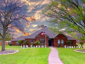 109 Sunbird Ln, Sunnyvale, TX 75182