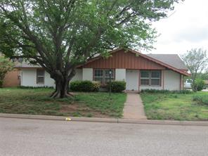 1738 MINTER, Abilene TX 79603