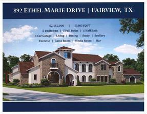 892 Ethel Marie, Fairview TX 75069